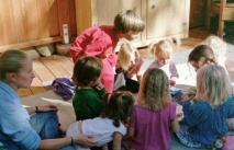Danielle Monroy and children